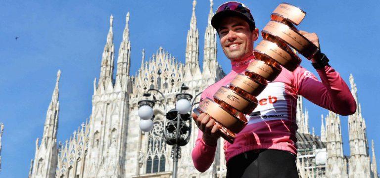 Tom Dumoulin rijdt Giro d'Italia 2019